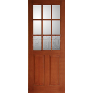 Pintu Divided Glass 2 Pane