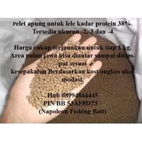Pelet Apung Pakan Lele Kadar Protein 38% 1