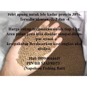 Pelet Apung Pakan Lele Kadar Protein 38%