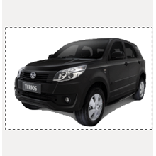 Mobil Daihatsu New Terios X AT Extra