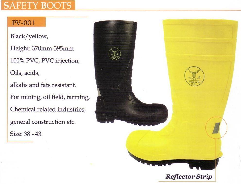 Jual PVC Safety Boots PETROVA Harga Murah Bekasi oleh CV. Abadi Teknik  Safety e05e9555b6