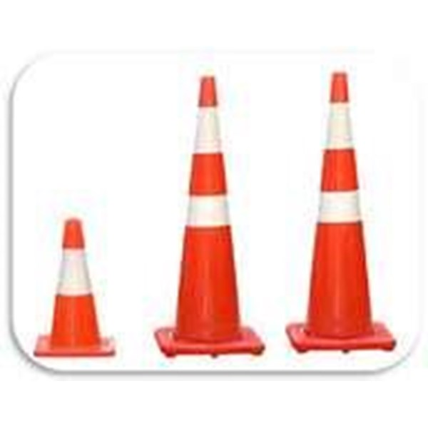 Traffic Cone Rubber Dan Plastik