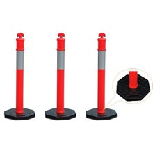 Traffic Delineator Post Stick Cone