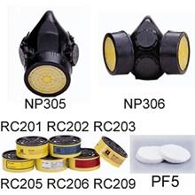 Masker Pernapasan Series NP305 & NP306 + Cartrigde
