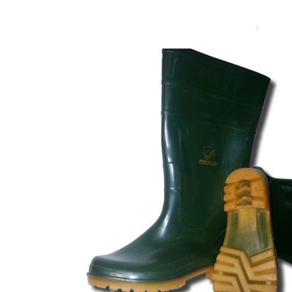 Cougar Gumboot Green (Non Steel Toe Cap)