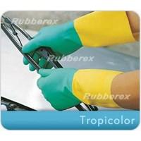 Jual Sarung Tangan Rubberex Tropicolor