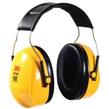 3M™ Peltor™ Optime™ 98 Over-The-Head Earmuffs Hearing Conservation H9A