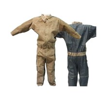 GUNSA Leather Welding Coverall