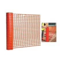 Orange Mesh Barrier