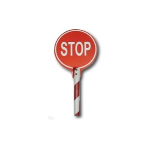 Sign Stop With Handle