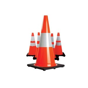 911 Rubber Cone Black Based