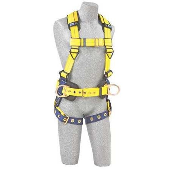 DBI SALA  Full Body Harness L 420 lb Blue or Yellow