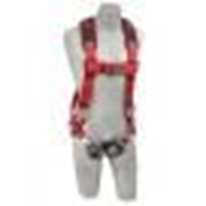 Protecta Pro Vest-Style Harness with Comfort Padding and Quick Connect Buckle Chest and Leg Straps