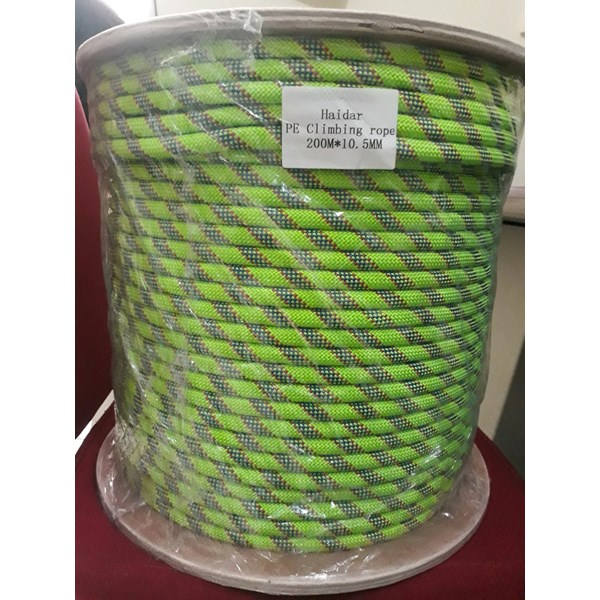 Tali Karmantel Statis Haidar Ropes Diameter 10.5mm 200 Meter