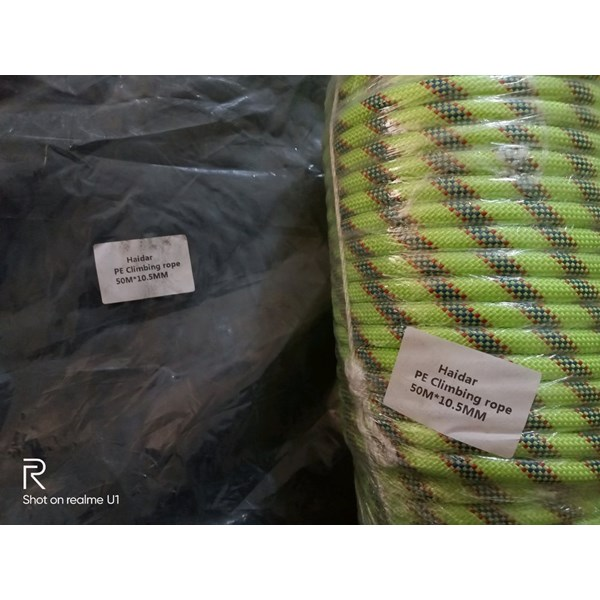 Tali Karmantel Statis Haidar-Ropes Diameter 10.5mm 50 Meter
