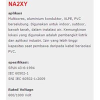 Jual XLPE Insulated Kabel NA2XY 2