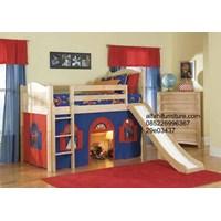 Jual Tempat Tidur Anak Seluncuran