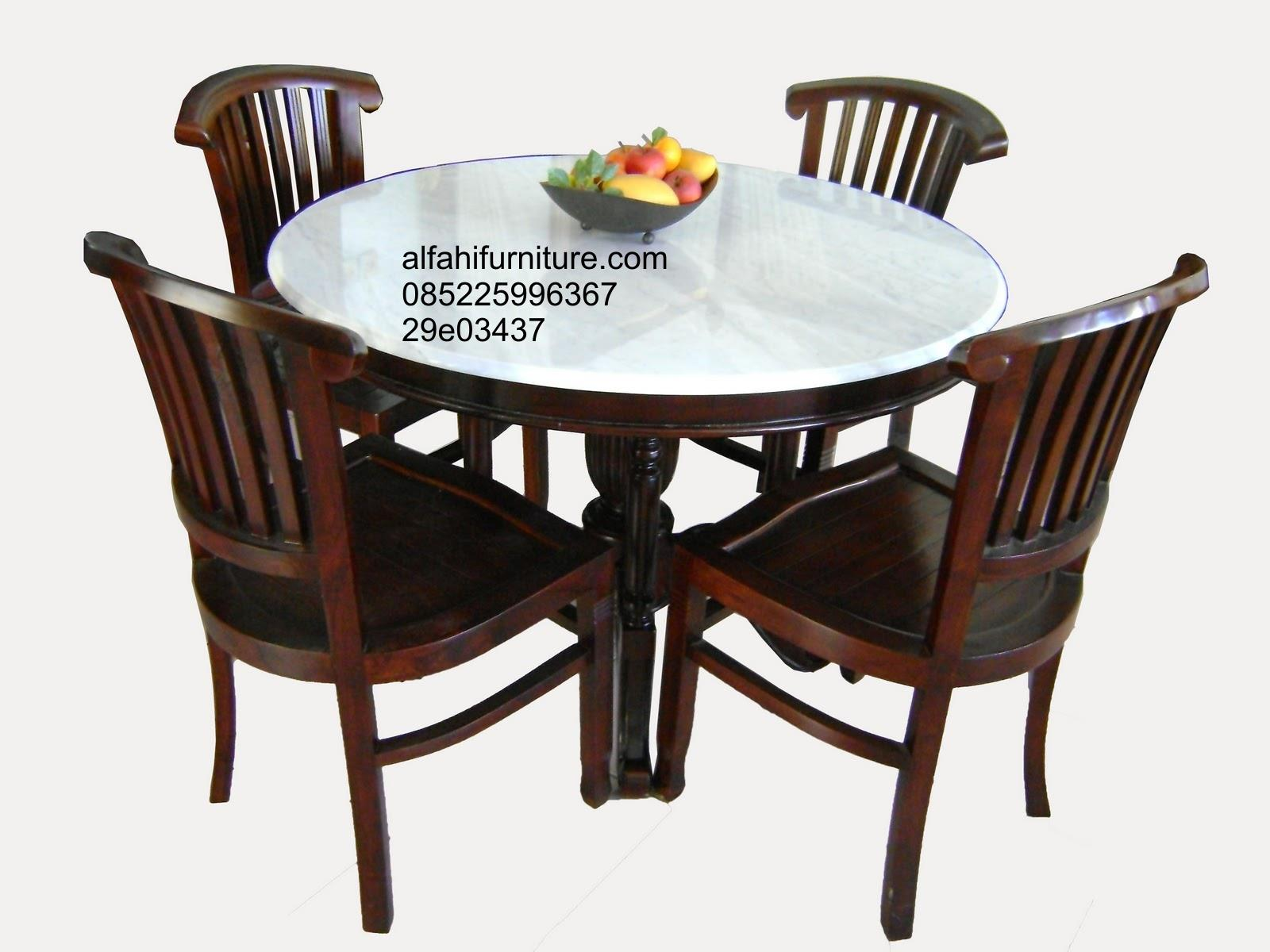 Sell Round Dining Table Set From Indonesia By Alfahi Furniture Cheap . Full resolution  portraiture, nominally Width 1600 Height 1200 pixels, portraiture with #A55C26.
