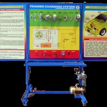 Alat Peraga pelatih Sistem Pengisian (pengisian sistem) tipe IC / sirkuit Intergreated
