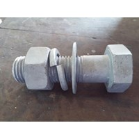 Mur Dan Baut Hex Bolt Nut 1