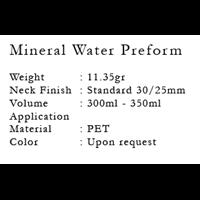 Jual Mineral Water Preform 2