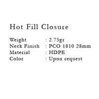 Jual Hot Fill Closure 2