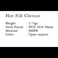 Jual Hot Fill Closure 2