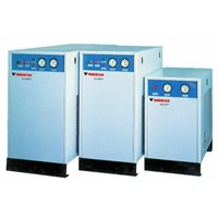 REFRIGERATING AIR DRYERS WITH BUILT-IN AFTER COOLERS