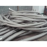 Jual FLEXIBLE METALLIC HOSE STAINLESS STEEL 304