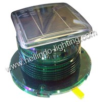 Solar Powered Buoy Light Green Color