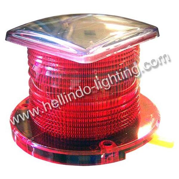 Lampu Buoy Tenaga Surya Red