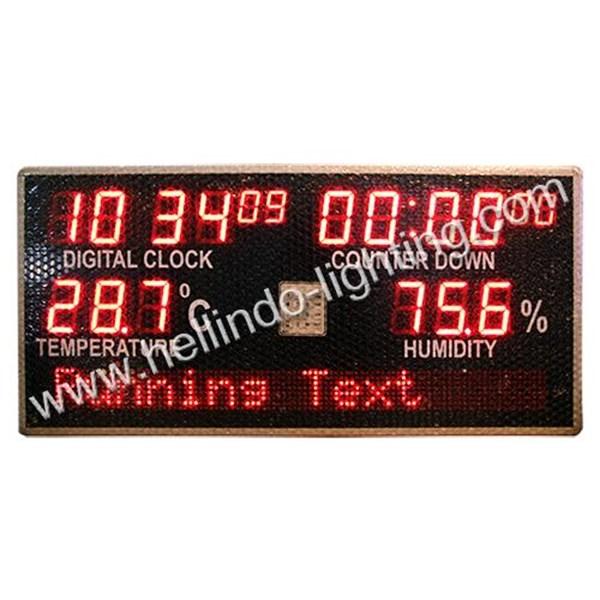 Display Temperature - Display Humidity
