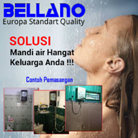 Water Heater Gas Bellano1