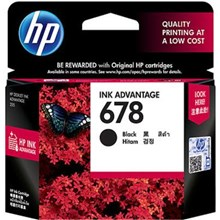 Tinta HP 678 BLACK INK CARTRIDGE CZ107AA