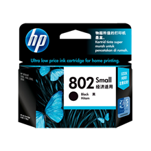 Tinta Hp 802 Black Small Ink Cartridge
