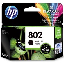 Tinta Hp 802 XL Black 3X More Ink Cartrigde
