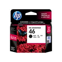 Tinta HP 46 Black Ink Cartrige