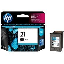 Tinta Hp 21 Black Ink Cartridge Original