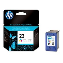 Tinta Hp 22 Color Ink Cartridge Original