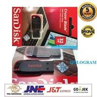 Jual Flashdisk SanDisk Cruzer Blade 32GB USB Flash Drive CZ50 - GARANSI RESMI