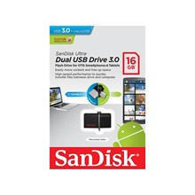 Sandisk Dual OTG USB Flash Drive USB 3.0 16GB