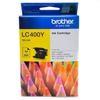 Jual Tinta BROTHER LC400Y Warna Yellow Original