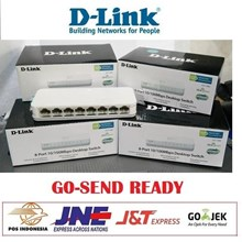Switch Hub 8-Port Desktop LAN  D-Link DES-1008C