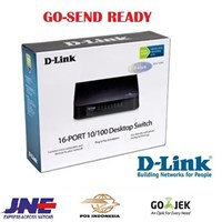 Jual Switch Hub 16-Port Desktop LAN D-Link DES-1016A