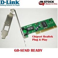 Jual LAN Card PCI 10 100Mbps Fast Ethernet D-LINK DFE-520TX Komputer Bintaro