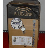 Jual Kabel UTP Cat 5 1box Blue-link