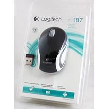 Mouse Wireless Logitech M187  (Komputer Bintaro Pondok Indah Rempoa Ciputat Lebak bulus Pondok Pinang RS FATMAWATI Jakarta Selatan)