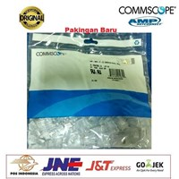 Jual Konektor RJ 45 AMP COMMSCOPE Cat5e Original 1-Pack Isi 50pcs