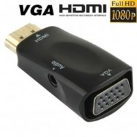 Jual HDMI to VGA Dongle with Audio (Bintaro)