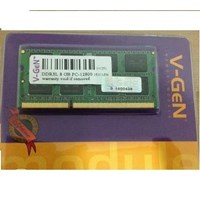 Jual Memory Laptop DDR3L V-GEN 8 GB PC12800-1600MHZ
